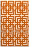 rug #1223019 |  red-orange check rug
