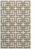rug #1223047 |  beige check rug
