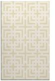rug #1223055 |  yellow check rug