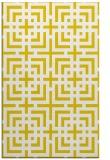 rug #1223059 |  yellow check rug