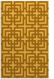 rug #1223063 |  light-orange check rug