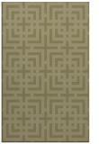 rug #1223075 |  light-green check rug