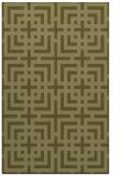 rug #1223083 |  light-green check rug