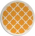 rug #122309 | round light-orange borders rug