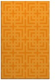 rug #1223091 |  light-orange check rug