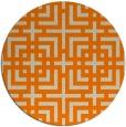 rug #1223099 | round beige check rug