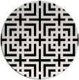 rug #1223103   round check rug