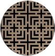 rug #1223111 | round check rug