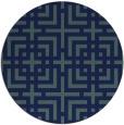 rug #1223140 | round check rug