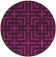 rug #1223182 | round check rug