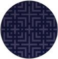 rug #1223184 | round check rug