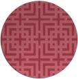 rug #1223193 | round check rug