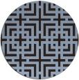 rug #1223209 | round check rug