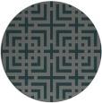 rug #1223232 | round check rug