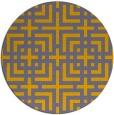 rug #1223273 | round check rug