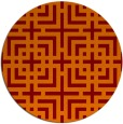 rug #1223312   round check rug