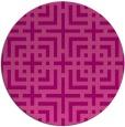 rug #1223327 | round check rug