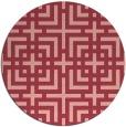 rug #1223336 | round check rug