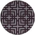 rug #1223356 | round check rug