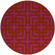 rug #1223374 | round check rug