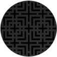 rug #1223394 | round check rug