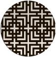 rug #1223403 | round brown popular rug