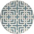 rug #1223412 | round check rug