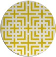 rug #1223427 | round yellow check rug
