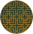 rug #1223433 | round check rug