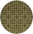 rug #1223451 | round check rug