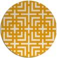 rug #1223456   round check rug