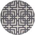rug #1223466   round check rug