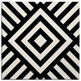 rug #1224299 | square white graphic rug
