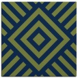 rug #1224339 | square blue stripes rug