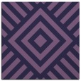 rug #1224391 | square purple geometry rug