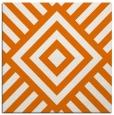 rug #1224511 | square orange graphic rug