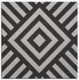 rug #1224519 | square red-orange stripes rug