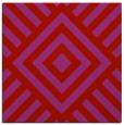 rug #1224567 | square red stripes rug