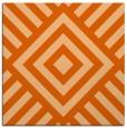 rug #1224575 | square red-orange graphic rug