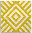 rug #1224623   square yellow stripes rug