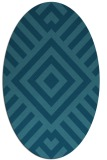 rug #1224732 | oval graphic rug