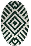 rug #1224802 | oval graphic rug