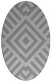 rug #1224890 | oval stripes rug