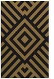 rug #1225059 |  mid-brown stripes rug