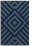 rug #1225071 |  blue stripes rug