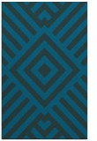 rug #1225095 |  blue-green graphic rug