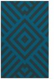 rug #1225095 |  blue geometry rug