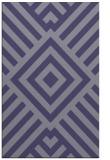 rug #1225119 |  blue-violet stripes rug