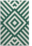 rug #1225167 |  green graphic rug