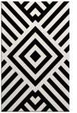 rug #1225179 |  black stripes rug